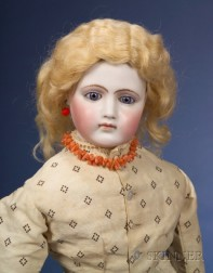 Jumeau Portrait Fashion Doll and Costumes