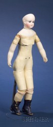 Early Bisque Fashion Doll by Rohmer