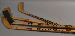 Four Hockey Sticks