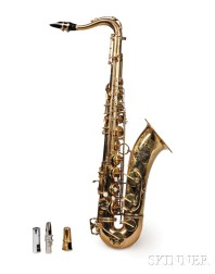 French Tenor Saxophone, Henri Selmer, Paris, 1961, Model Mark VI