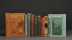 Stoddard, Charles Warren (1843-1909) Ten Titles, Many Signed First Editions.