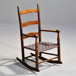 """Shaker Production """"0"""" Rocking Chair"""