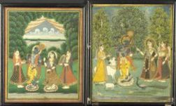 Two Votive Paintings