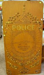 Collection of Approximately 150 Police Uniform Buttons