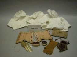 Ensemble of Bebe Undergarments and Accessories