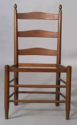 """Shaker Number""""3 """"Meeting House Armless Chair"""