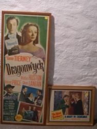 Two Movie Posters, Dragonwyck,   and Marx Bros., A Night in Casablanca