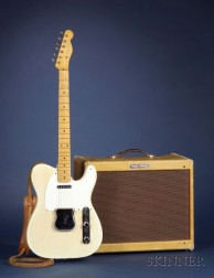 American  Electric Guitar, Fender Electric Instrument Company, Fullerton, 1957, Mode