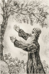 Marc Chagall (Russian/French, 1887-1985)      The Exhortation of Joshua