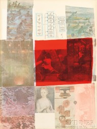 Robert Rauschenberg (American, 1925-2008)      From the Seat of Authority