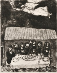 Marc Chagall (Russian/French, 1887-1985)      The Passover Feast