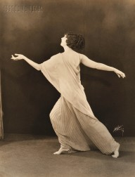 Eleven Photographs of Ruth St. Denis (American, 1879-1968)