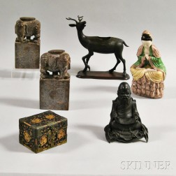 Six Decorative Items