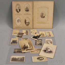 Small Group of Carte-de-Visites and Cabinet Cards