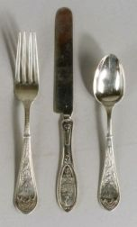 Group of American Victorian Sterling Flatware
