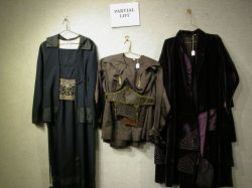 Four Edwardian and Early 20th Century Womens Dress sets.