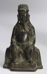 Bronze Image of the God of Literature