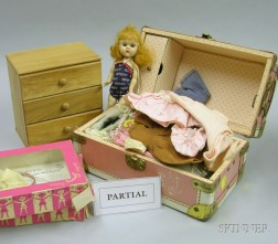 Ginny Doll and a Large Variety of Mixed Furniture, Clothing and Accessories