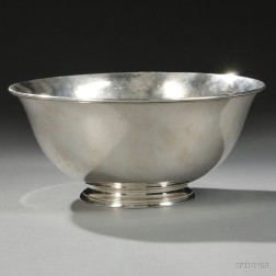 Arthur Stone Arts & Crafts Sterling Silver Revere-style Bowl