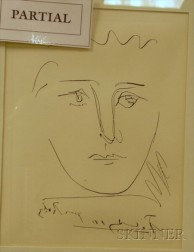 Lot of Three Etchings: Works by or After Georges Braque (French, 1882-1963), Amedeo Modigliani (Italian, ...