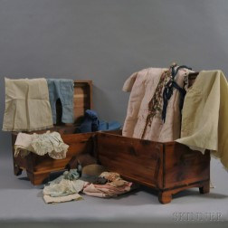 Two Pine Lift-top Toy Blanket Chests