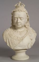 Robinson & Leadbeater Parian Jubilee Bust of Queen Victoria