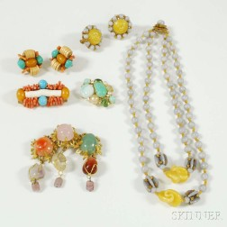 Group of Designer Costume Jewelry