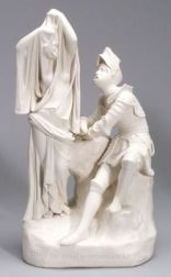Parian Group Depicting the Vision of the Red Crosse Knight