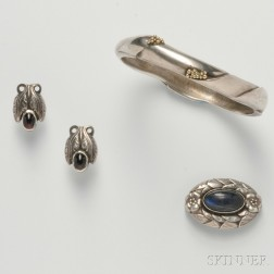 Group of Silver Jewelry, Georg Jensen