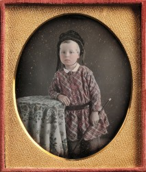 American School, 19th Century      Hand-tinted Quarter-plate Daguerreotype of Joseph Webster as a Boy