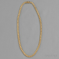 14kt Gold Necklace, Tiffany & Co.