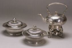 Three Silver Plated Tablewares