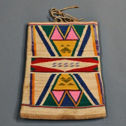 Nez Perce Cornhusk Bag
