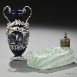 Two Pieces of Venetian Glass