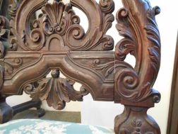 Pair of Carved Anglo-Portuguese-style Mahogany Side Chairs