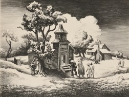 Thomas Hart Benton (American, 1889-1975)      Sunday Morning
