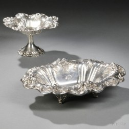 Two Pieces of Reed & Barton Francis I   Pattern Sterling Silver Hollowware