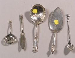 Twenty-eight Pieces of Sterling Silver Flatware