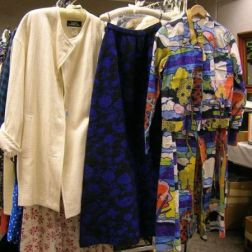 Group of Vintage and Later Designer Clothes