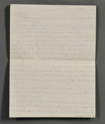 Kennedy Onassis, Jacqueline (1929-1994) Autograph Letter, Draft, Unsigned, and Carbon Copy of Typed Version, also Draft, [Summer, 1964]