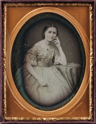 Jeremiah Gurney (American, 1812-1886)      Quarter-plate Daguerreotype of a Young Woman