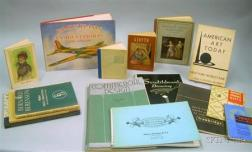 Group of Mid-20th Century Commercial Art and Design Booklets and Art Books
