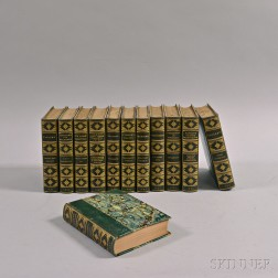 Twelve Volumes of The Badminton Library of Sports and Pastimes