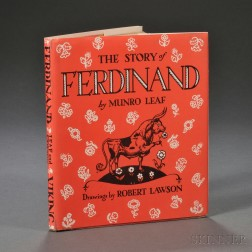 Leaf, Munro (1906-1976) The Story of Ferdinand  , illustrated by Robert Lawson (1892-1957)