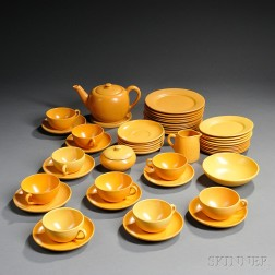 Forty-nine Pieces of Arts & Crafts Pottery