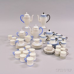 Approximately Sixty-one Wedgwood Bone China Tea Wares