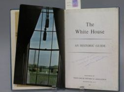 Jacqueline Kennedy Autographed, The White House, An Historic Guide