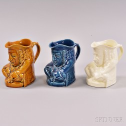"Three Wedgwood ""Elihu Yale"" Toby Jugs"