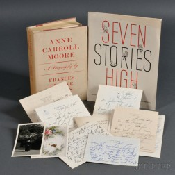 Moore, Anne Carroll (1871-1961) Archive of Letters, Biography, and Two Pamphlets.