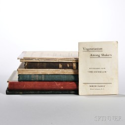 Shaker Books and Pamphlets, Compositions, and Clippings of Shaker Articles